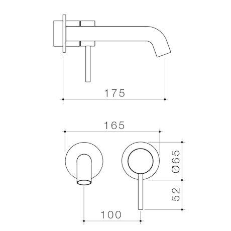 96348C6A-96348B6A-96348BB6A-96348GM6A-96348BN6A - Liano II 175mm Wall Basin Bath Trim Kit - 2 x Round Cover Plates.jpg