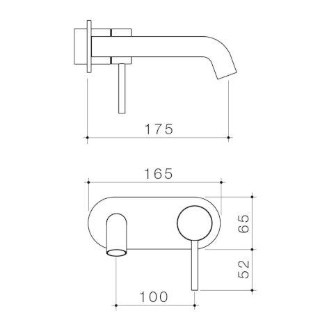 96349C6A-96349B6A-96349BB6A-96349BN6A-96349GM6A - Liano II 175mm Wall Basin Bath Trim Kit - Round Cover Plate.jpg