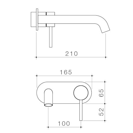 96357C6A-96357B6A-96357BB6A-96357GM6A-96357BN6A - Liano II 210mm Wall Basin Bath Trim Kit -  Round Cover Plate.jpg