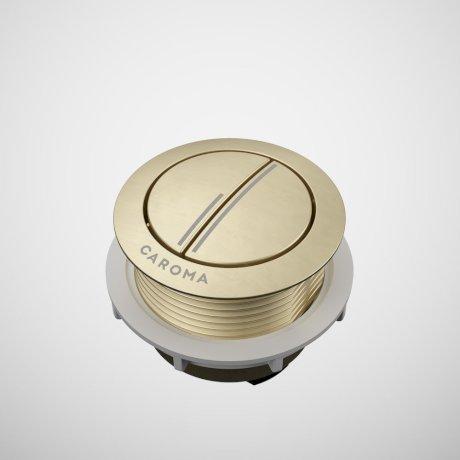 687071BB Toilet Flush Button - Round Metal - Brushed Brass.jpg
