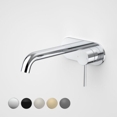 96345C6A Liano II 175mm Wall Basin Bath Mixer - Round Cover Plate - Chrome - Swatches.jpg