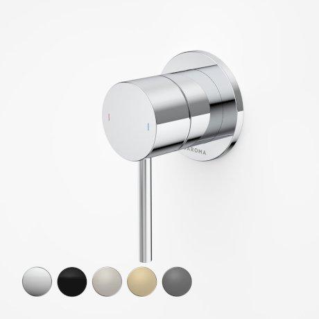 96360C Liano II - Bath_shower mixer - Round Cover Plate - Chrome_swatches.jpg