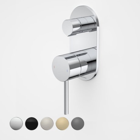 96366C Liano II Bath Shower Mixer With Diverter - Round Cover Plate - Chrome - Swatches.jpg