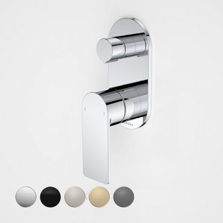 99656C Urbane II - Bath_shower mixer with diverter - Rounded Cover Plate - Chrome - SALES KIT_swatches.jpg