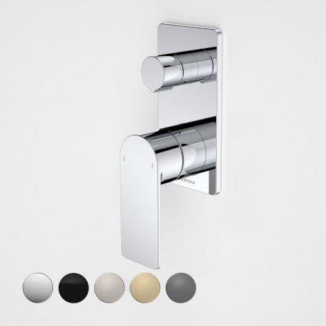 99657C Urbane II - Bath_shower mixer with diverter - Rectangular Cover Plate - Chrome - SALES KIT_swatches.jpg