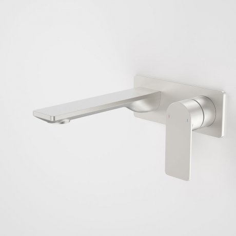 99632BN6A Urbane II 180mm Wall Basin Bath Mixer - Rectangular Cover Plate - Brushed Nickel 2.jpg