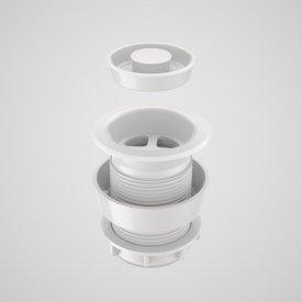 Plug & Waste - 40mm (white)