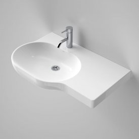 Opal 720 Wall Basin Left Hand Shelf