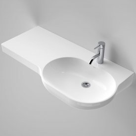 Opal 920 Wall Basin Left Hand Shelf