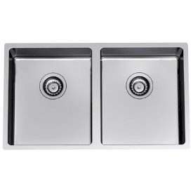 Evolution Double Bowl Undermount Sink