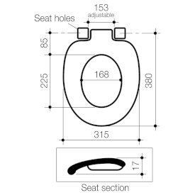 Junior Toilet Seat with GermGard®