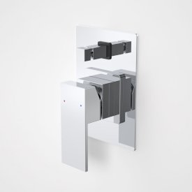Quatro Solid Bath/Shower Mixer with Diverter