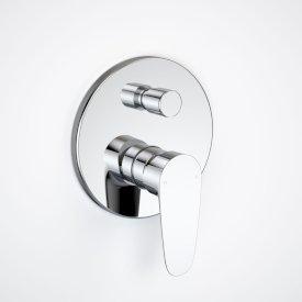Flare Bath/Shower Mixer with Diverter Trim Kit
