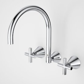 Coolibah Classic Cross Laundry Tap Set