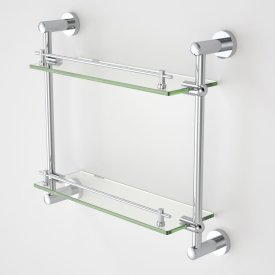 Cosmo Glass Shelf - Double
