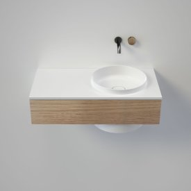 Elvire 900 Wall Basin - Tasmanian Oak