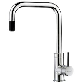 Culinary Urban Pull Out Sink Mixer (Chrome Black)