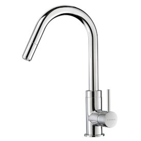 Culinary Gooseneck Pull Out Sink Mixer (Chrome)