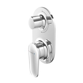 Aio Shower Mixer with Diverter (Chrome)