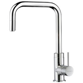 Minimalist Square Gooseneck Sink Mixer - 6 Star