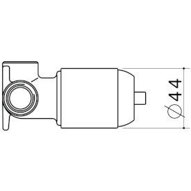 Kip Bath/ Shower Mixer In Wall Body Kit