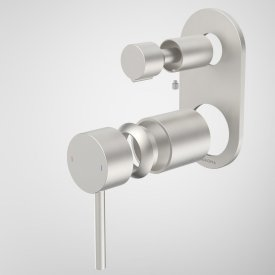 Liano II Bath / Shower Mixer With Diverter Trim Kit (Round Cover Plate)