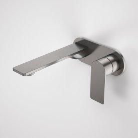 Urbane II 180mm Wall Basin / Bath Mixer - Round Cover Plate