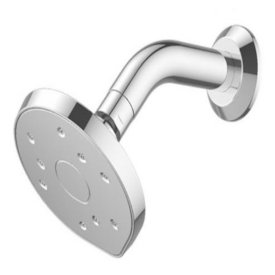Kiri MK2 Low Flow Wall Shower On Conventional Arm