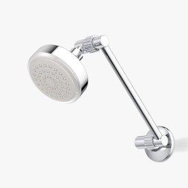 Luminous LED Round Adjustable Shower