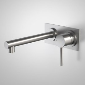 Titan Stainless Steel Wall Basin Mixer