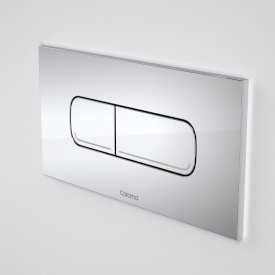 Invisi Series II® Oval Dual Flush Plate & Buttons (Metal)