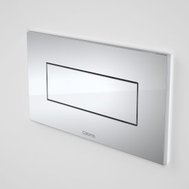 Invisi Series II® Metal Rectangular Single Flush Plate & Buttons