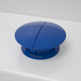 Round Care Button - Sorrento Blue