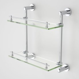 Cosmo Glass Shelf - Double