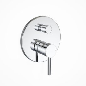 Blaze Pin Bath/Shower Mixer with Diverter