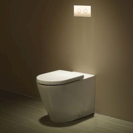 Seido Invisi Series II® Wall Faced Toilet Suite