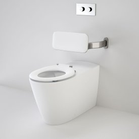 Care 800 Cleanflush® Wall Faced Invisi Series II® Suite with Backrest
