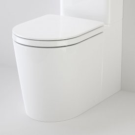 Liano Cleanflush Easy Height Wall Faced Close Coupled Pan