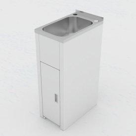 Utility Mini Laundry Tub and Cabinet