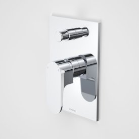 Track Bath/Shower Mixer with Diverter