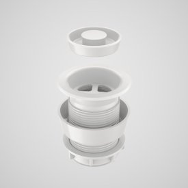 Plug & Waste - 40mm (white)