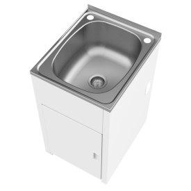 Utility 42 Litre Compact Tub & Cabinet