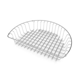 Round Bowl Stainless Steel Draining Basket