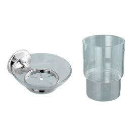 Cadet Soap Holder/Tumbler Holder Pack