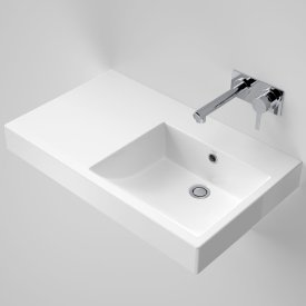 Liano Nexus 750 Wall Basin - Left Hand Shelf