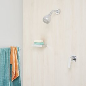 Urbane Multifunction Fixed Wall Shower
