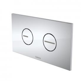 Invisi Series II® Round Dual Flush Plate & Buttons (Plastic)