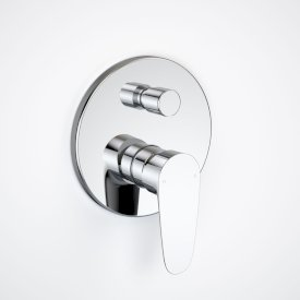 Flare Bath/Shower Mixer with Diverter Trim Kit