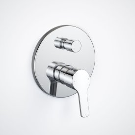 Flame Bath/Shower Mixer with Diverter