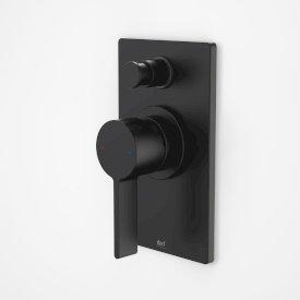 Enigma Bath/Shower Mixer with Diverter Black